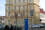 Budova pošty na náměstí Republiky v Olomouci