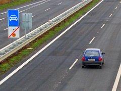 Rychlostní silnice. Ilustrační foto.
