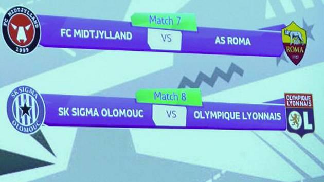 Losování prvního vyřazovacího kola UEFA Youth League ve švýcarském Nyonu