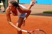 Slovinská tenistka Andreja Klepač na olomouckém ITS Cupu