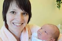 Julie Neoralová, Náměšť na Hané, narozena 1. února v Olomouci, míra 50 cm, váha 3490 g.