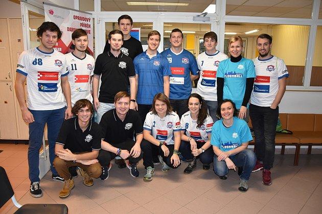 Členové FBS Olomouc darovali krev