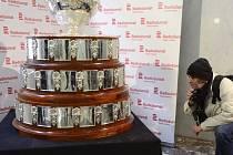 Originál Davisova poháru v Praze