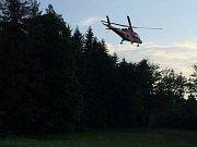 Tři zraněné si vyžádala nehoda, která se stala 16. června 2017 v pátek podvečer za obcí Dolany na Olomoucku