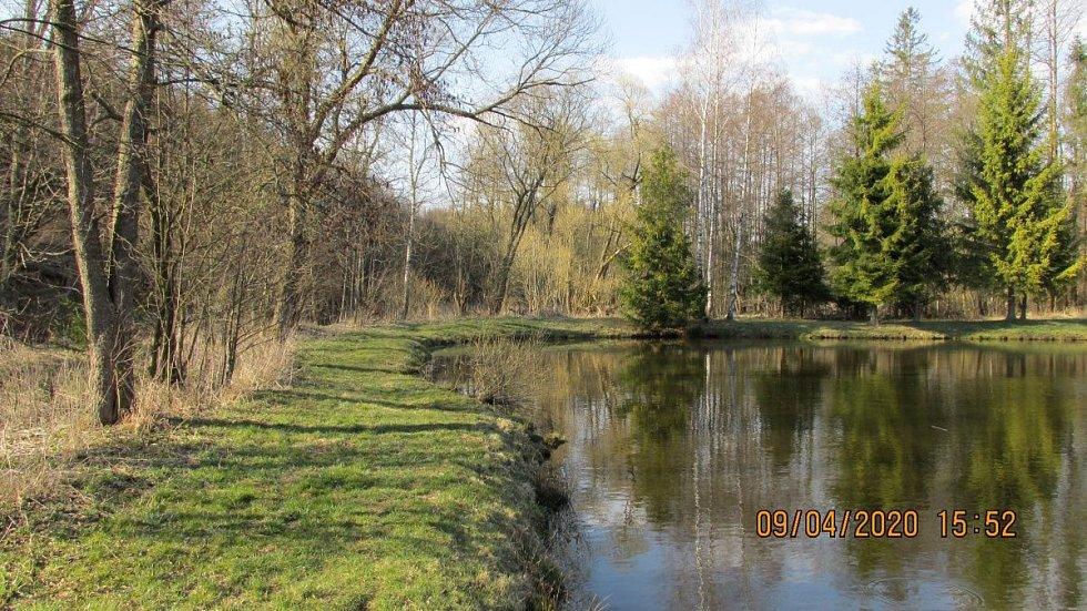 Okolí Moravského Berouna. 9. dubna 2020