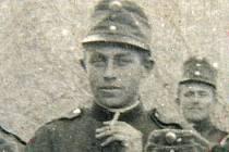 Jan Kakáč na vojně v rakouské uniformě