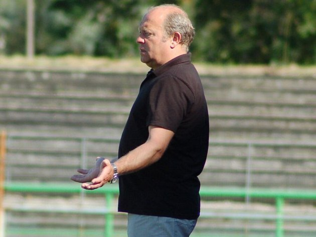Leoš Kalvoda ukormidla divizního Přerova