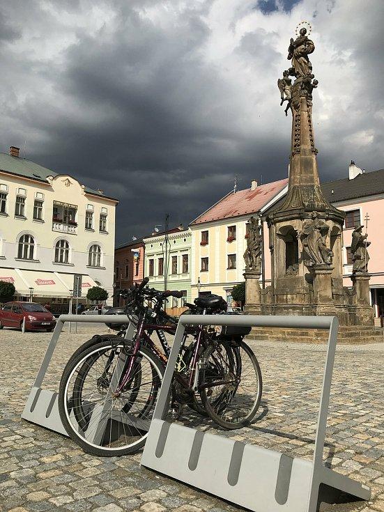 Turistů je letos v Litovli méně. 23. července 2020