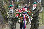 Den válečných veteránů na vojenském hřbitově v Olomouci - Černovíře