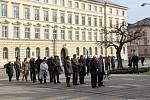 Olomouci si připomenula 165. výročí od narození prvního československého prezidenta Tomáše Garrigua Masaryka.