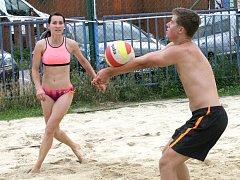 Beach-volejbalový turnaj. Ilustrační foto