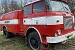 Máňa je na prodej. Drahanovice se loučí s cisternovou automobilovou stříkačkou vyrobenou v roce 1975