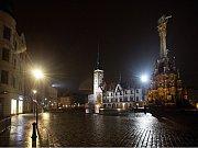 Lampy Philips UrbanStar na spojnici Horního a Dolního náměstí v Olomouci. Radní jimi chtějí osadit celé Horní náměstí.