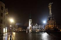 Nové lampy na Horním náměstí v Olomouci