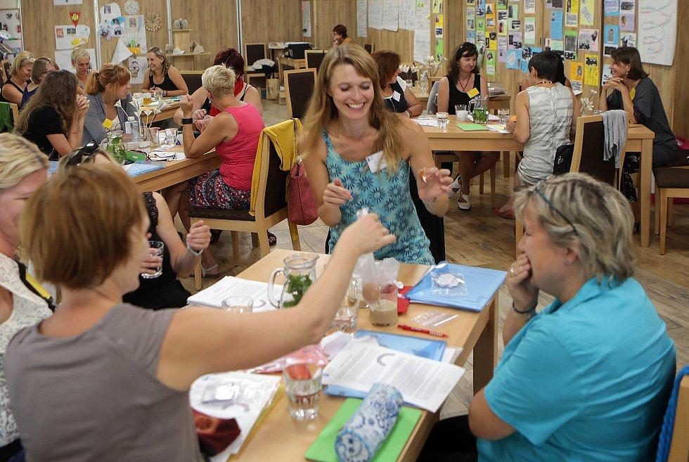 Letní škola pro učitele v Hrubé Vodě na Olomoucku