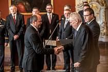 Prezident Miloš Zeman jmenoval 13. prosince na Pražském hradě menšinovou vládu Andreje Babiše. Jiří Milek