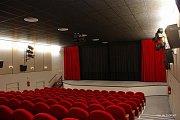 Kino v Moravském Berouně promítá již 100 let. Na snímku současný kinosál.Zdroj: VVC Moravský Beroun