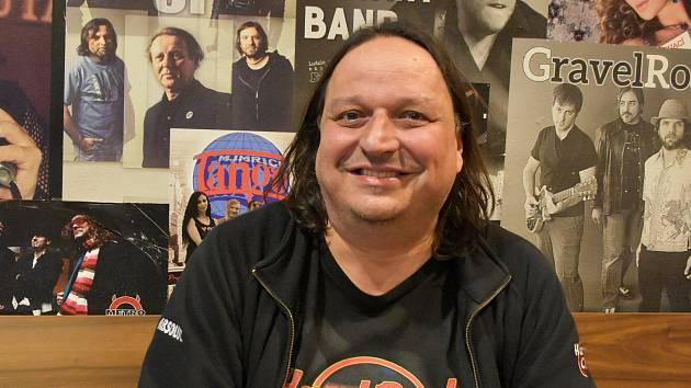 Dušan Neumann, manažer olomoucké restaurace Bounty Rock Cafe