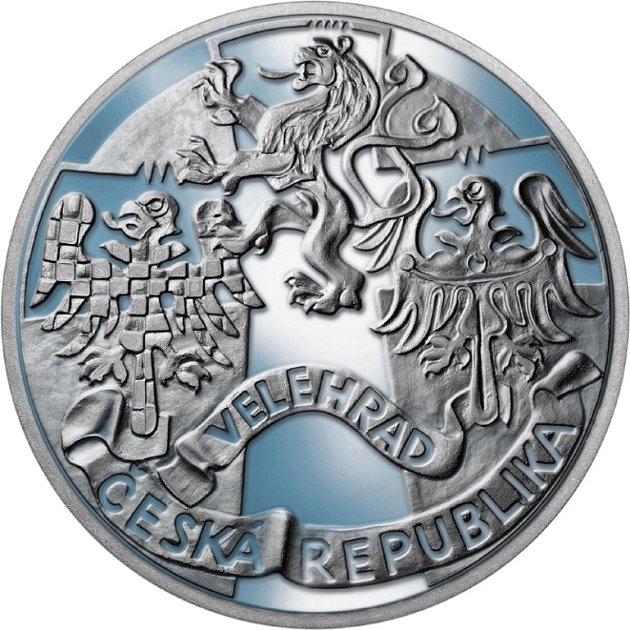 Stříbrná pamětní medaile - rub