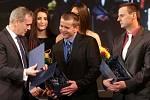 Cena Ol. kraje: Václav a Marek Rozehnalovi. Vyhlášení Sportovce Olomouckého kraje za rok 2015