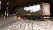 Hasiči v Olomouckém kraji zasahovali 18. ledna kvůli silnému větru a sněžení