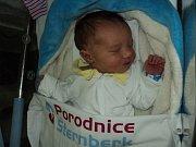 Marek Halabica, Křelov, narozen 10. prosince, míra 50 cm, váha 3350 g