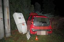Dopravní nehoda v Pasece