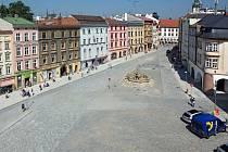 Zrekonstruované Dolní náměstí v Olomouci