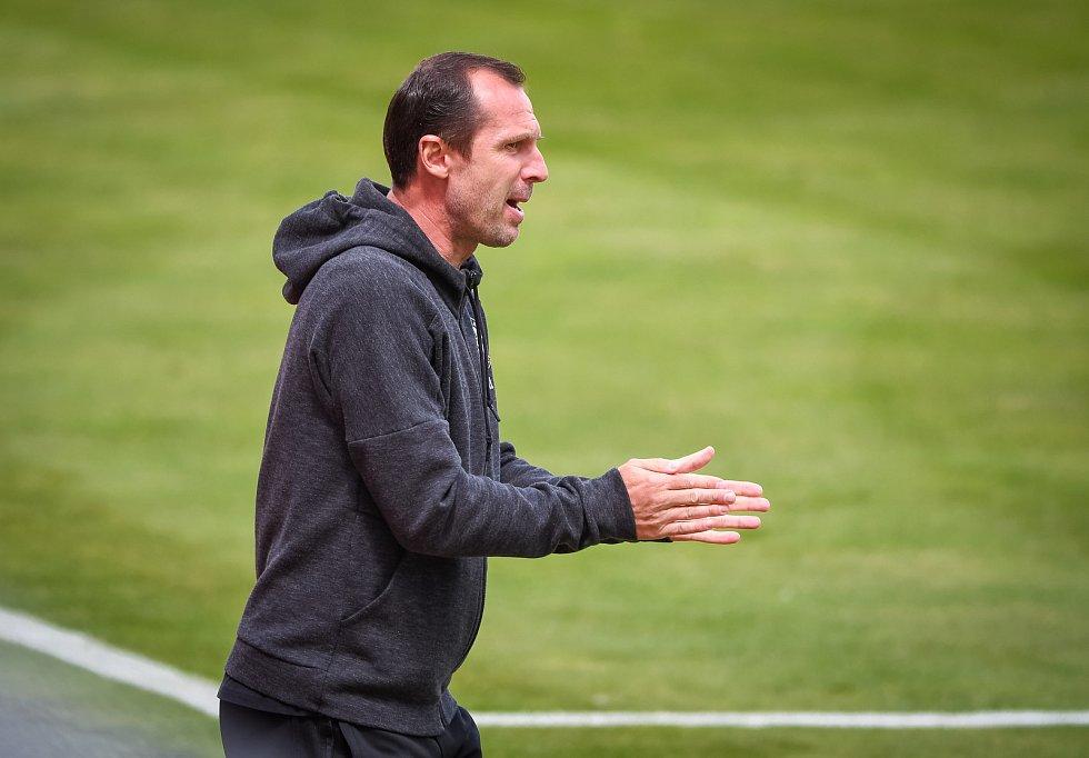 Fotbalisté Olomouce prohráli doma s Příbramí 1:2.trenér Radoslav Látal