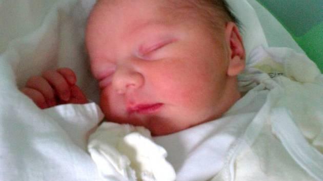 Jan Staněk, Třeština  narozen 28. února v Olomouci  míra 52 cm, váha 3610 g