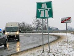 Bývalá R35 mezi Mohelnicí a Olomoucí je teď dálnicí D35