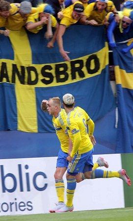 Švédský útočník John Guidetti