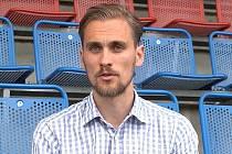 Jakub Beneš, předseda spolku SK Olomouc Sigma MŽ, který je majoritním vlastníkem prvoligového fotbalového klubu.