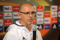 Trenér FC Fastav Zlín Bohumil Pánik