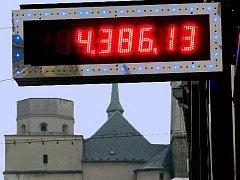 Hazard v Olomouci. Ilustrační foto