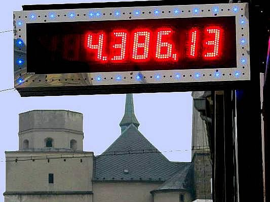 Herny vcentru Olomouce. Ilustrační foto
