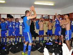 Fotbalisté Olomouce vyhráli v Pardubicích 2:1 a zajistili si postup do první fotbalové ligy.