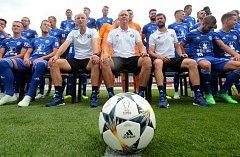 SK Sigma Olomouc - tradiční focení týmu před zahájením ligového ročníku