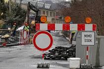 Budování kanalizace ve Šternberku