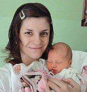 Eva Kovaříková, Olomouc, narozena 2. srpna v Olomouci, míra 50 cm, váha 3380 g.