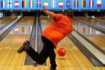 Trénink na bowlingový Evropský pohár šampionů v olomouckém centru Šantovka