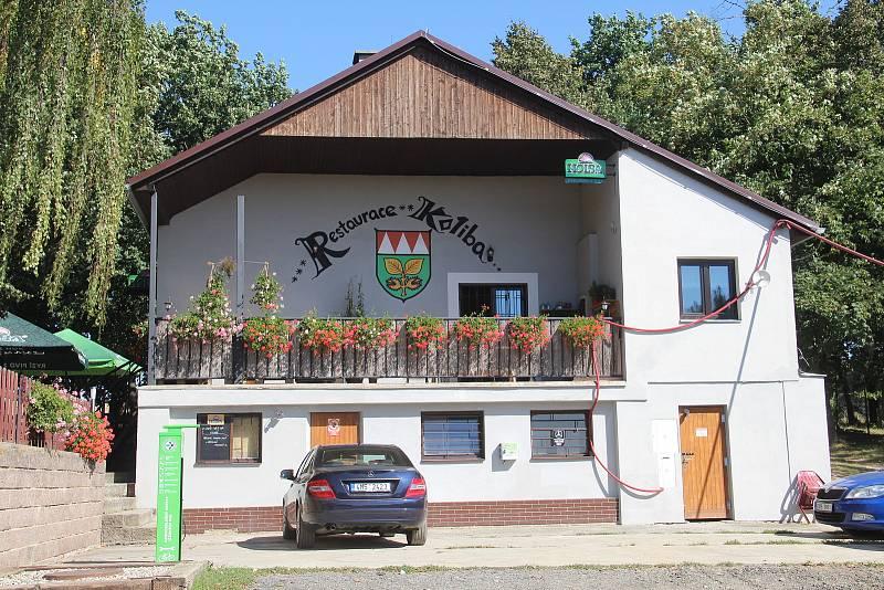 Bukovany. Oblíbená restaurace u sportovního areálu