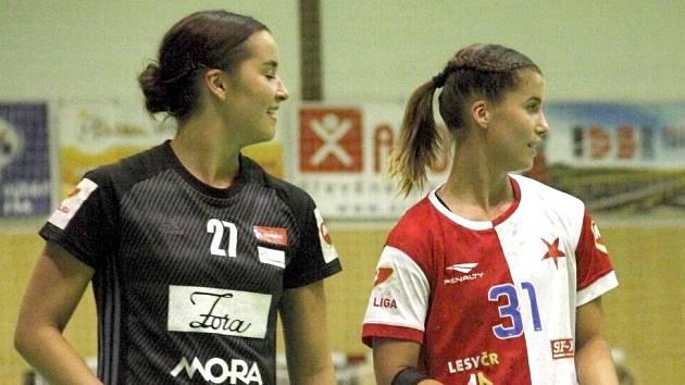 Tereza Fryčáková (vlevo) a Vendula Fryčáková