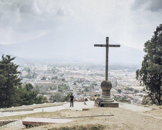 Okolí sopky Pacaya vGuatemale