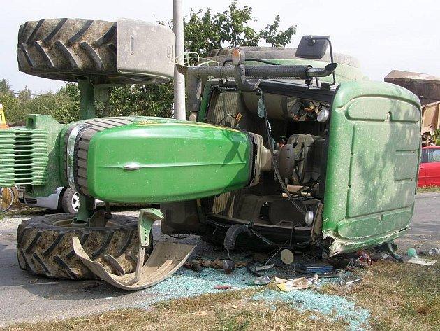 Nehoda traktoru v Července