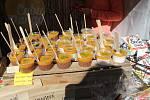 Festival plný netradičních pokrmů Extreme food festival v areálu Letního kina v Olomouci. Mangové speciality.