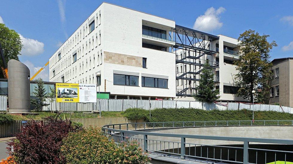 Nová budova II.interní kliniky a geriatrie ve Fakultní nemocnici Olomouc