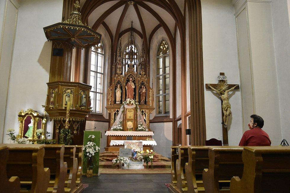 Noc kostelů, kostel sv. Michala v Olomouci, 12. 6. 2020