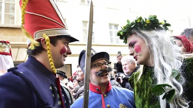 Masopustní veselí v Olomouci, 15. 2. 2020