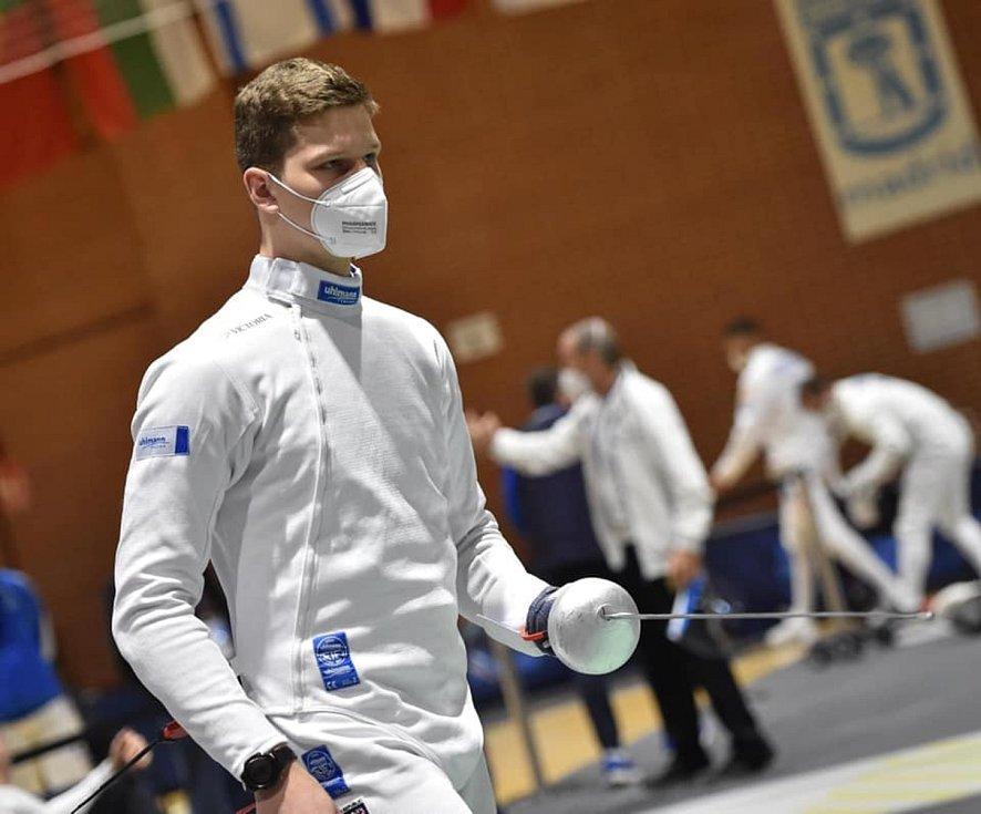 Šermíř Dukly Olomouc Jakub Jurka postoupil na olympijské hry do Tokia díky triumfu na kvalifikačním turnaji v Madridu.